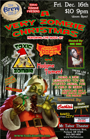 A Very Zombie Christmas at Mt Tabor Theater