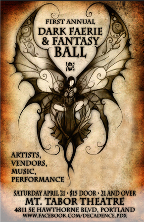Dark Faerie & Fantasy Ball @ Mt. Tabor Theater