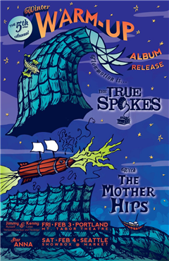 Mother Hips & The True Spokes @ Mt. Tabor Theater