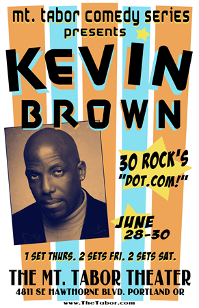 Kevin Brown @ Mt. Tabor Theater